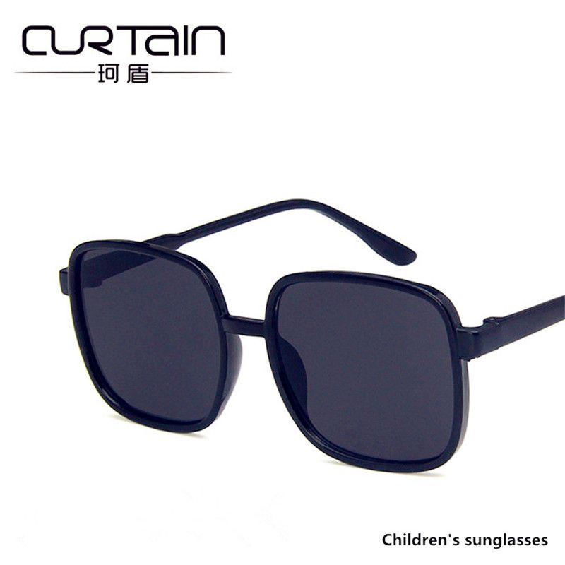 5490a02c4c Compre CORTINA Gafas De Sol Para Niños Gafas De Sol Cuadradas 2019 Nuevos  Niños Y Niñas Gafas De Sol Para Niños Gafas Anti UV Para Bebés Bebé Marea  De Viaje ...