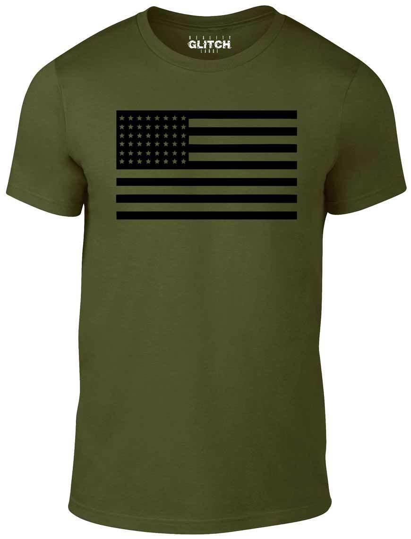 f5df833293db Black US Flag T Shirt Funny T Shirt Retro America Fashion Military Marines  USA Hip Hop Short Sleeve T Shirt Men 2018 New Tee Print Humor T Shirts  Funky T ...
