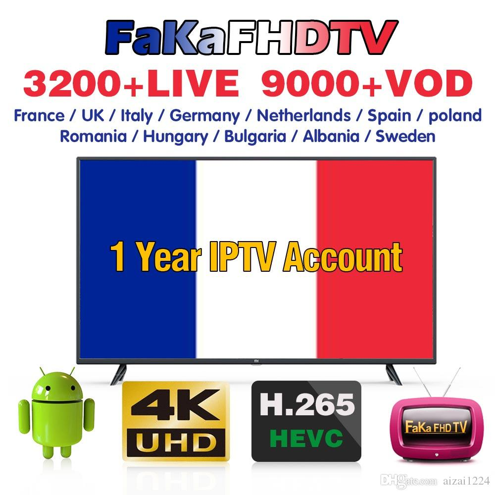 Europe IPTV Account France/Arabic/Spain/Portugal/Italy/Gremany/Turkey  French Iptv Subscription Free Test IPTV Code for Android IP TV