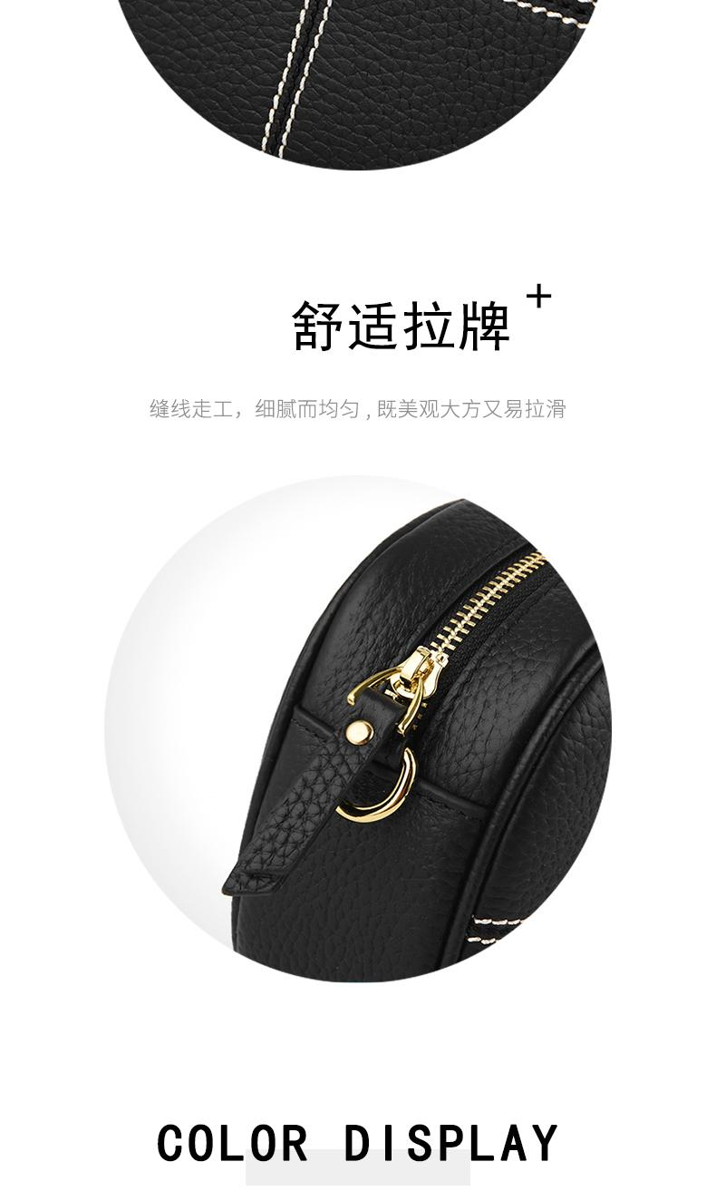 AOEO Woman Shoulder Bags Genuine Leather Real Ladies Soft Touch England Style Messenger Bags Women Small Mini Phone Bag Female