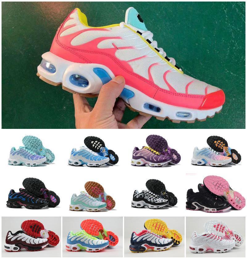 2019 27nike Air Max Plus Tn Top Cheap Mens Womens Shoes Rainbow