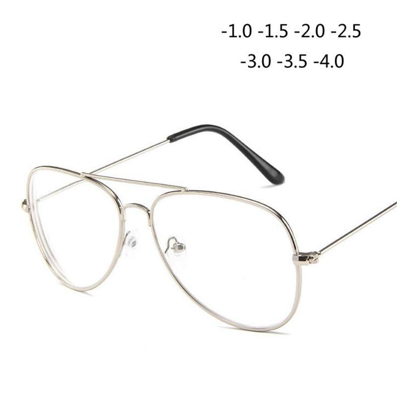 9669c8c53e532 Compre Retro Metal Olho De Gato Terminado Miopia Óculos Óculos Óculos Para  Mulheres E Homens 1.0 1.5 2.0 2.5 3.0 3.5 4.0 De Marquesechriss