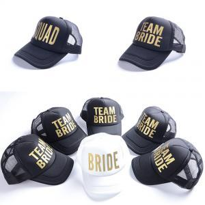 Team Bride Squad Baseball Mesh Cap Gold Letters Woman Snapback Caps Wedding  Party Man Adjustable Hat LJJP161 Richardson Hats Headwear From  Shuaijinjin china ... 7c7ce99233ae