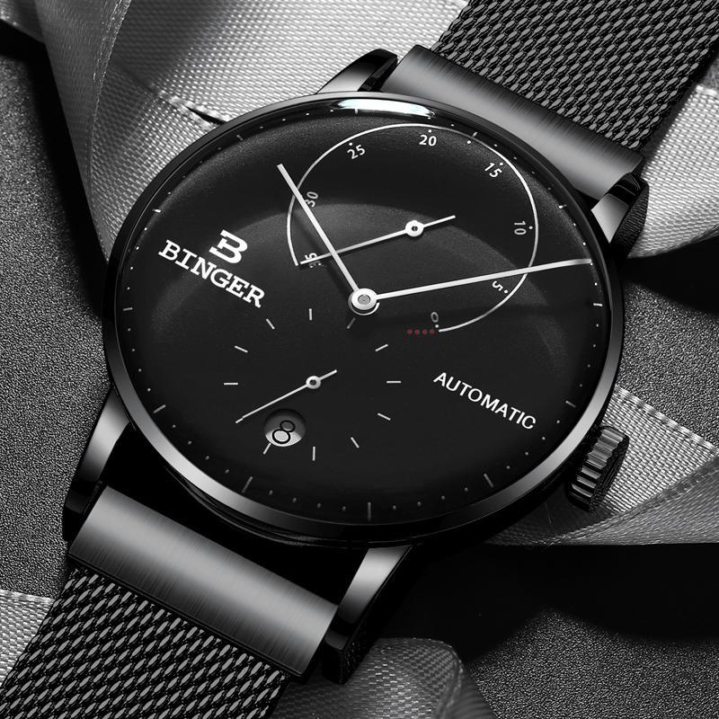 Compre Suiza BINGER Marca Hombres Reloj Automático Automático Para Hombre  Relojes Zafiro Hombre Japón Movimiento Hombre Reloj Reloj Hombre A  135.41  Del ... fd48149dc6cc
