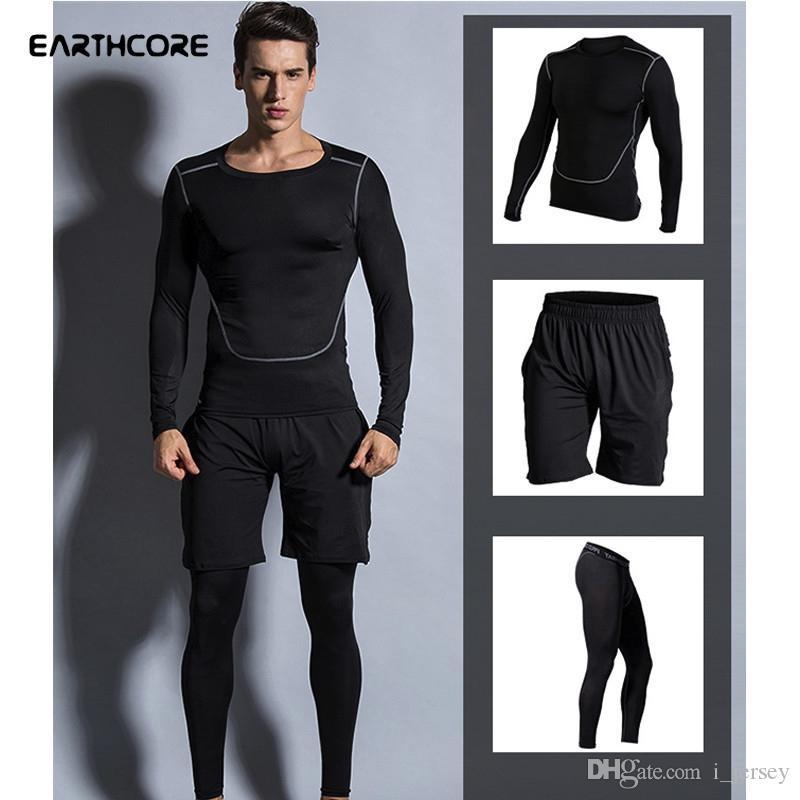 Sportbekleidung Aufstrebend Männer Kompression Haut Strumpfhosen Leggings Laufen Jogging Hosen Gym Workout Crossfit Bodybuilding Männliche Hosen Für Fitness Training