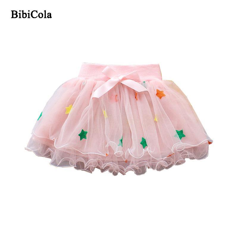 5eae6ba82 Buena calidad Niñas Pettiskirt Bebé TuTu Faldas Pink Tulle Puffy Faldas  Toddler / Infant Short Cake Skirt Niños Princesa 2019 Nuevo