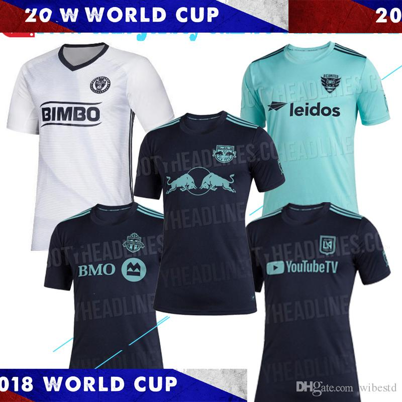 quality design d50a5 393e6 MLS Parley Jersey 2019 LAFC Toronto Philadelphia Union New York City LA  Galaxy Atlanta United Orlando City SC Seattle Sounder Football Shirt