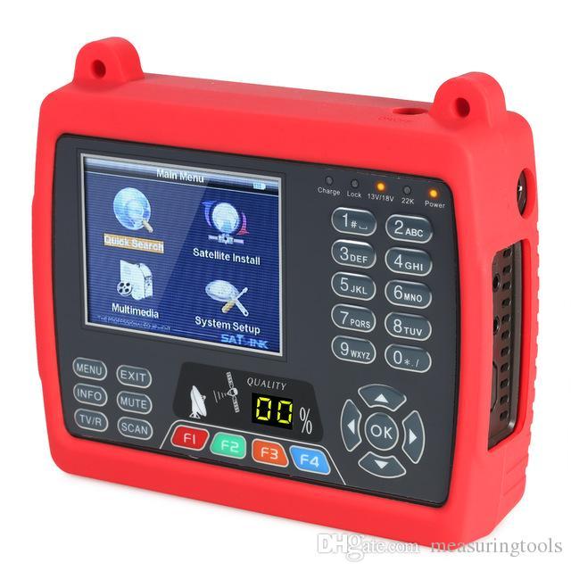 SATLINK WS6950 Digital Satellite Meter Digital Satellite TV Finder Digital  Satellite Signal Finder Meter with Carrying Strap