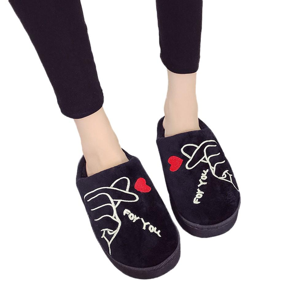 41949c199a9 YOUYEDIAN Women Flip Flops Shoes Winter Slippers Flat Indoor Soft Floor Shoes  Girls House Bedroom Slipper Scarpe Donna Elega G30 Mens Boots Winter Boots  ...