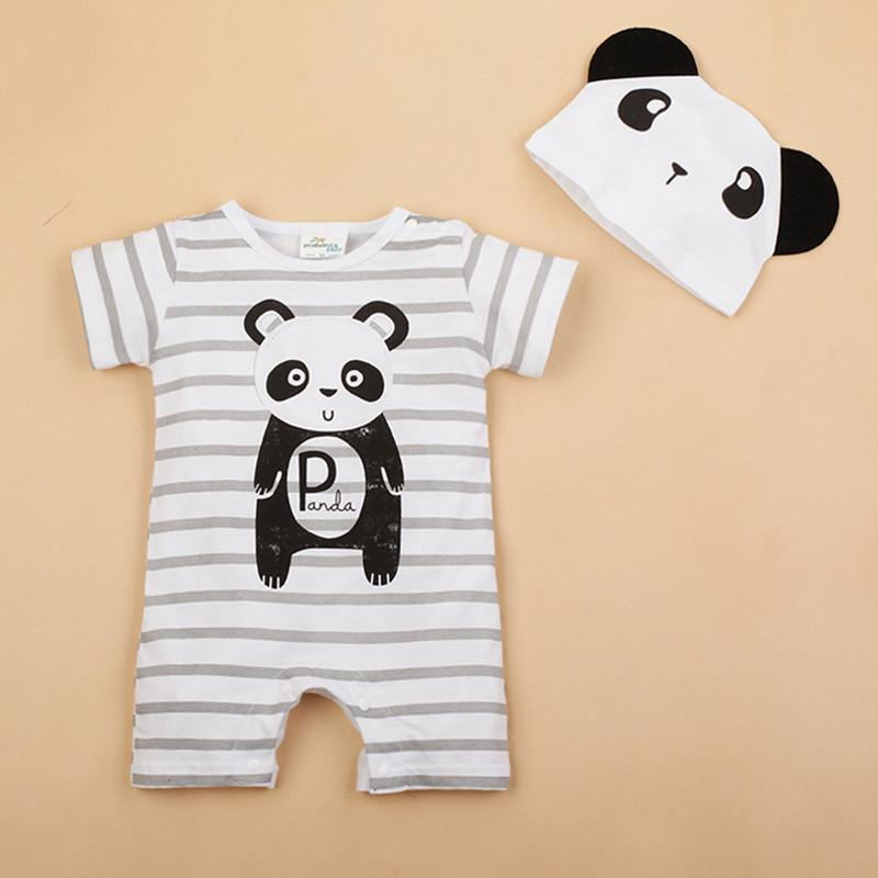 6e9d2483e 2019 Newborn Baby Rompers Cute Animal Bodysuit Brand Boy Clothing ...