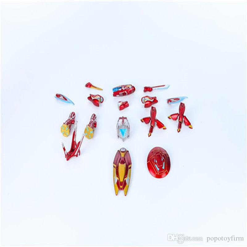 2-9cm MA super Hero Iron Man MK50 Weapon Accessories Action Figure PVC Toys Gift Present For Kid