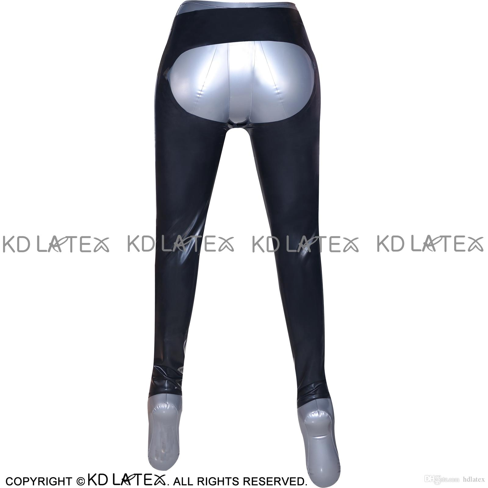 2019 Black Sexy Spanking Latex Leggings Fetish Bondage Rubber Pants Jeans Trousers Bottoms Longhot Sales 0014 From Hdlatex 76 41 Dhgate Com