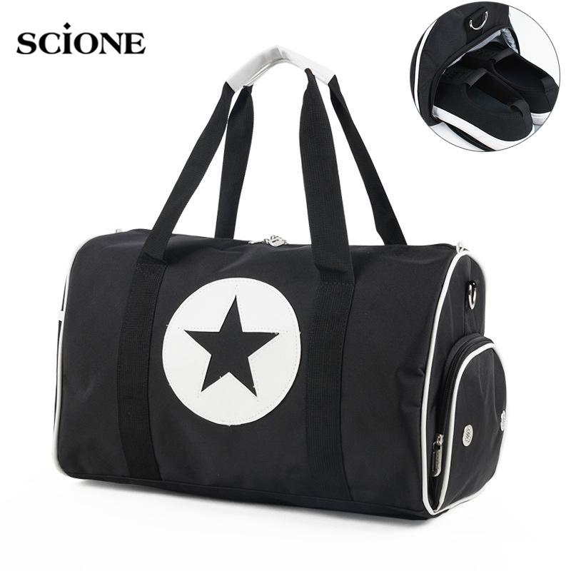 4f0636f1be9f 2019 Outdoor Gym Bags For Fitness Shoes Handbags Men Women Travel Bag  Shoulder Crossbody Training Sac De Sport Pack Tas Duffle XA43WA From  Mangosteeng