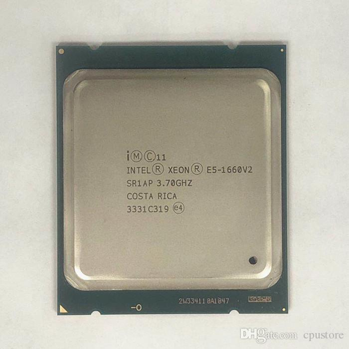 Intel Xeon E5 1660 V2 CPU server Processor 6 Core 3.7GHz 15M 130W E5-1660 V2 SR1AP
