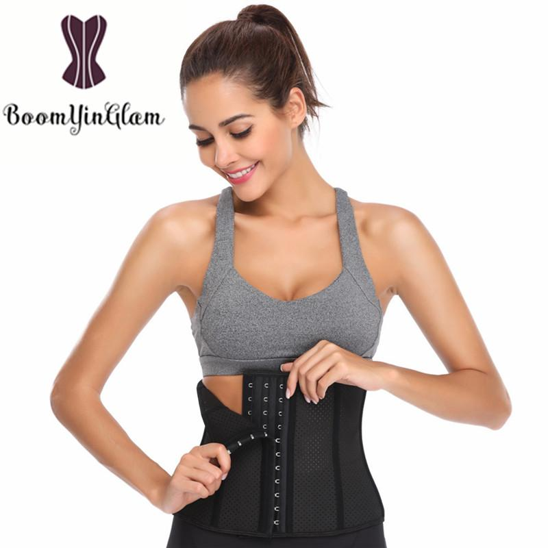 a62f9ced0e3ca Breathable Hollow Out Girdle Corset Tummy Control Waist Cincher Shaper Body  Shapewear Latex Waist Trainer Size XXS-XXXL 946  Online with  36.73 Piece  on ...