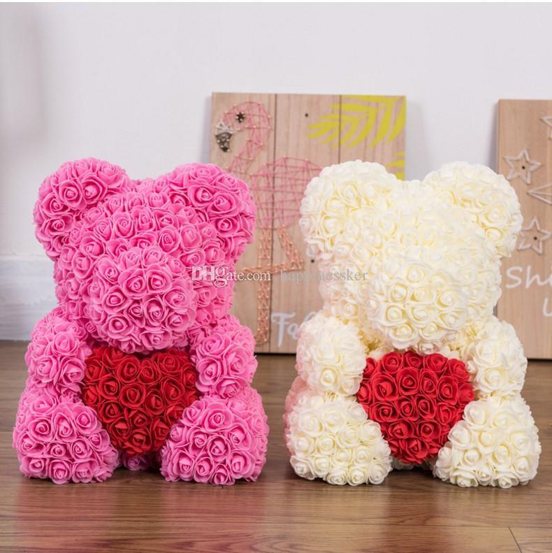 Grosshandel 2019 Rose Bar Hochzeit Dekoration Valentinstag Geschenk