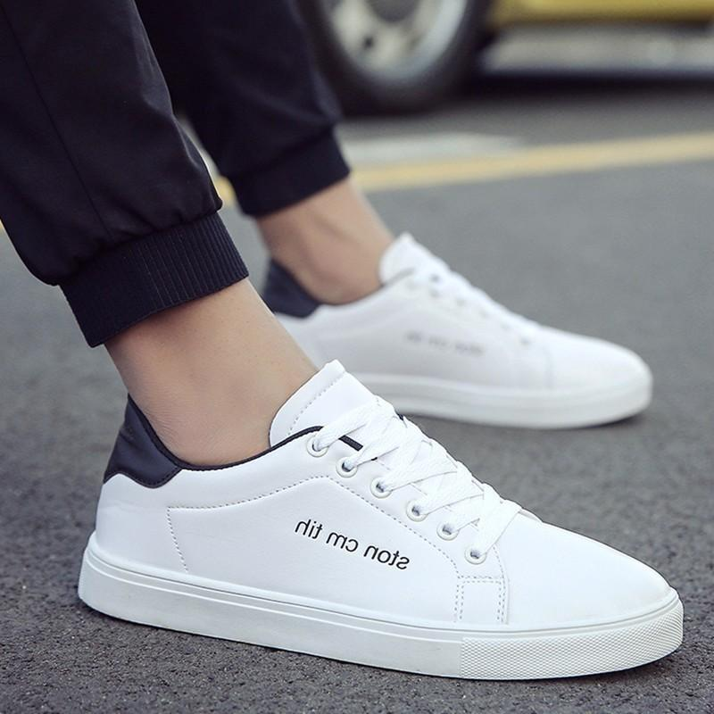Hot2019 Winter Motion Leisure Time Man Skate Trend Small White Tide Shoes Male Shoe Sociology