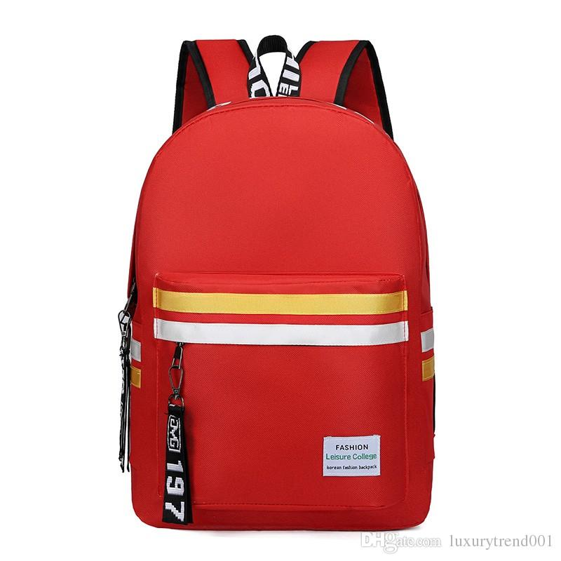 e05a69421a24 2019 large size waterproof top quality jobs mens women computer students  Luxury backpacks laptop famous fashion books bag Bags 8372