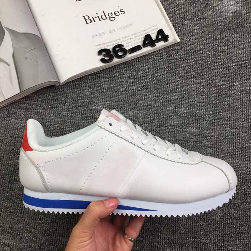 2019 Cortez Shoes Mens Womens Casual Shoes Sneakers Huaraches Sale Leather  Original Cortez Ultra Moire Walking Shoes Sale 36-44 Runner Cortez Leather  ... 523a3e677