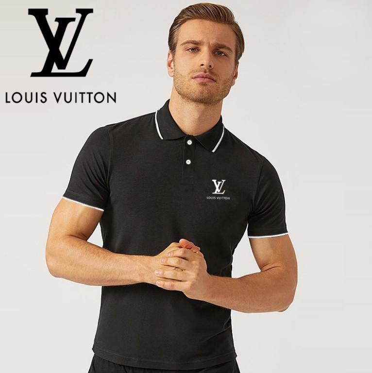 online store 663a1 e114d Classic Men s polo French brand design men s polo shirt 100% cotton shop  activities low price Business Polo Shirt