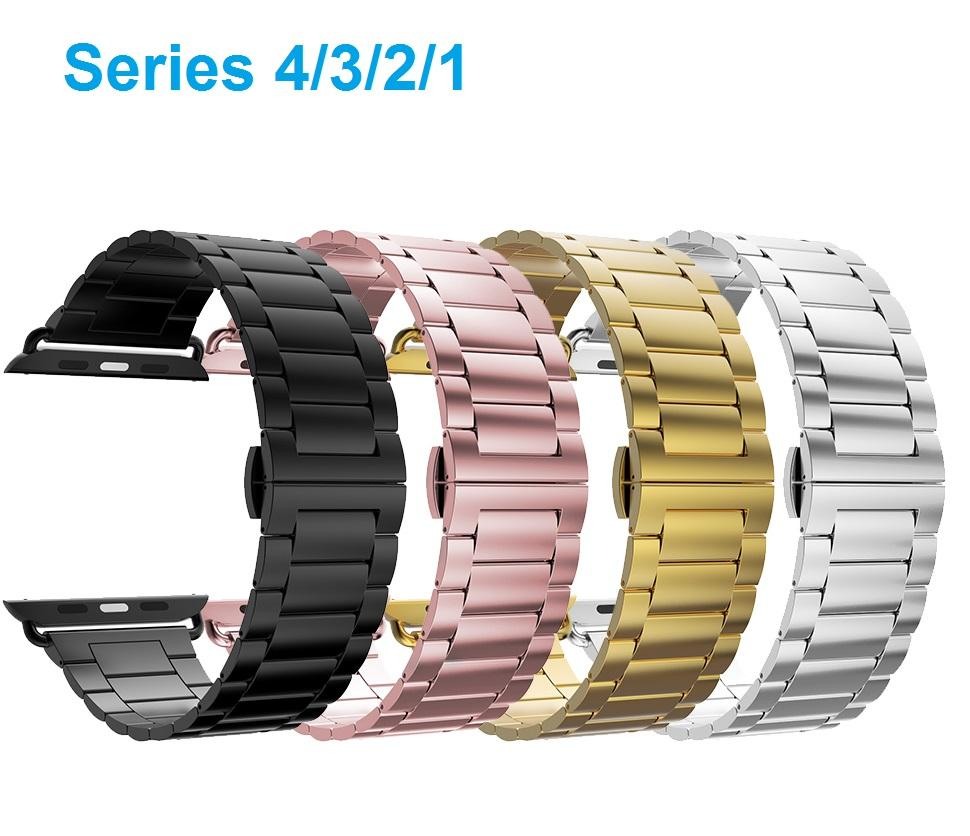 284416e5a3a Iiteeology Ultra Thin 2.0mm Stainless Steel Replacement Band Compatible  Apple Watch Series 4 3 2 1 Cloth Watch Bands 23mm Watch Band From  Luzhenbao523