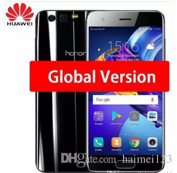 Original Huawei Honor 9 Mobile Phone 4G LTE 5 15' Kirin 960 Octa Core 4/6GB  RAM 64/128GB ROM Dual Rear 1920*1080P Fingerprint NFC