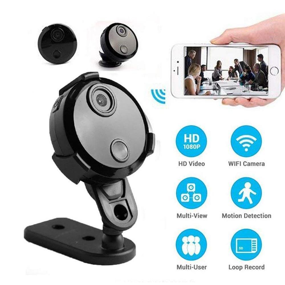 Hdq15 Inteligente Wifi Mini Câmera Hd 1080 p Ip Rede Camcorder Night Vision  Sensor de Detecção de Movimento Carro Esportes Ação Dv 150 Graus De