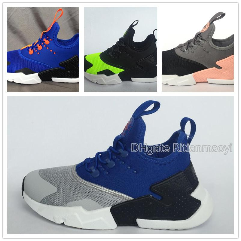5b8df8b2c 2019 Hot Sale Kids Blue Casual Shoes Boys Black Girls Red Outdoor ...