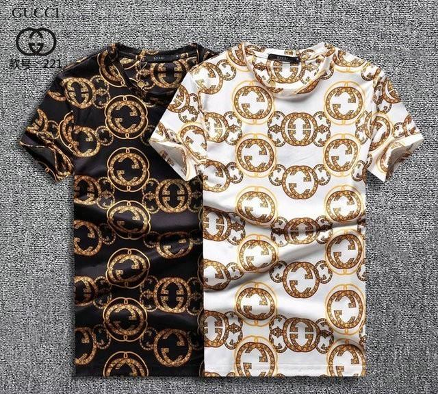 Summer Short Sleeve Korean Edition Man Bottoming Pure Cotton designer luxury T-shirt Trend Tide Clothes