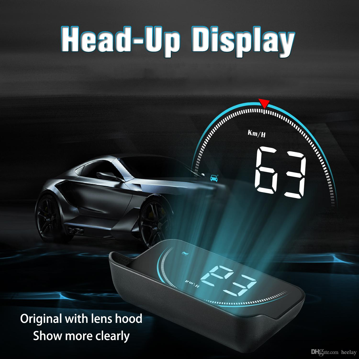Automobiles & Motorcycles 3 Size Pet Protective Film Car Hud Reflective Film Head Up Display System Film Obd Ii Fuel Consumption Overspeed Display Car Electronics Accessories