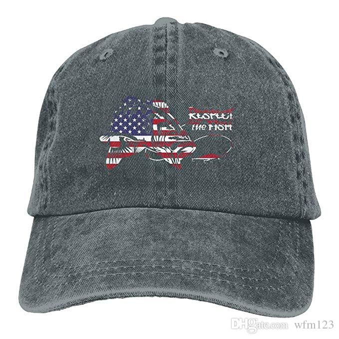 2019 New Cheap Baseball CapsMens Cotton Washed Twill Baseball Cap American  Flag Bass Patriotic Fishing Hat Custom Fitted Hats Design Your Own Hat From  ... 7c179c0edd2