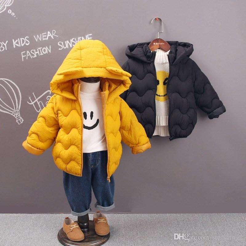 59ea684cb New Brand Children Winter Cotton Jackets Girls Thickening Warm Down ...