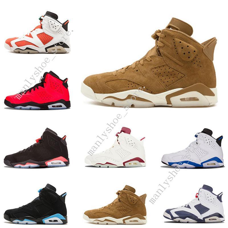 ccaf5ccff6e94d New 6 6s Men Women Basketball Shoes Unc Black Cat Hare Carmine White ...