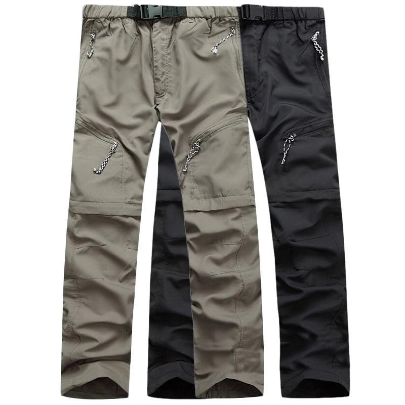 3bb0f0aec8 2019 LoClimb Waterproof Detachable Hiking Pants Men Mountain Climbing Quick  Dry Trousers Camping Trekking Outdoor Sport Pants,AM001 From Kangshifuwat,  ...
