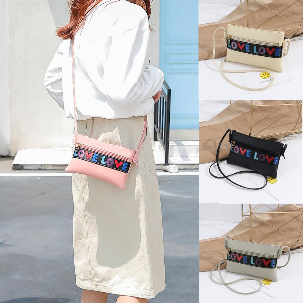 2d774420af Cheap Fashion Women Letter Shoulder Bag Messenger Satchel Tote Crossbody  Bag Phone Bag Pretty Style Daily  1122 Backpack Purse Bags For Men From  Bags3