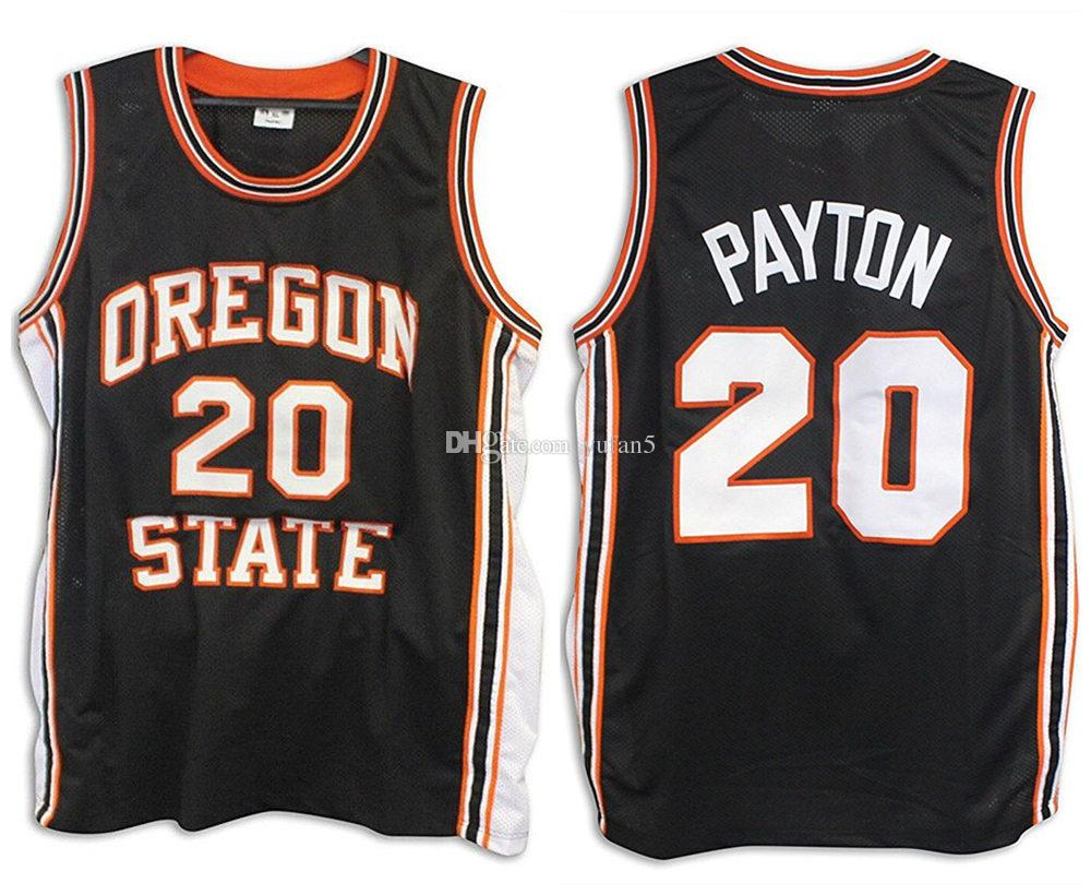 e4eb1dfd 2019 #20 Gary Payton Oregon State Beavers College Retro Classic Basketball  Jersey Mens Stitched Custom Number And Name Jerseys From Yufan5, $23.35 |  DHgate.