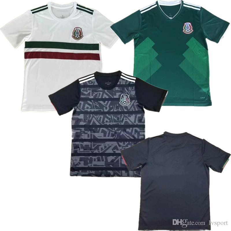 5d7226202 2019 2019 CONCACAF Gold Cup Mexico Jersey Mexico Soccer Jerseys Thai  Quality 10 G.DOS SANTOS 11 CARLOS V 16 H.HERRERA Football Jersey From  Lvsport