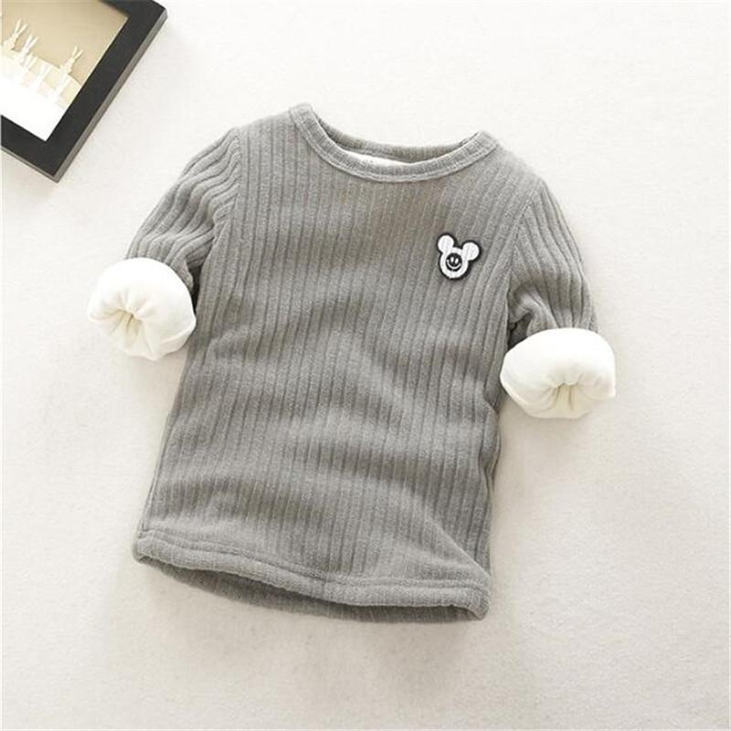 good quality Children Sweaters Kids Boys Girls Autumn Winter Warm Sweaters  Clothing Baby clothes girls winter sweaters outwear