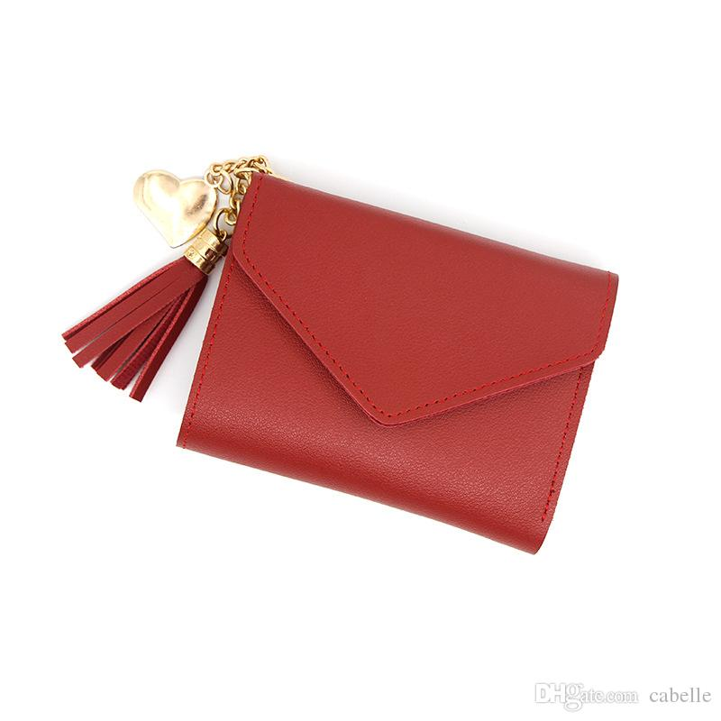 2019 New Designer Wallet Women's Fashion Card Holder Pocket Luxury Designer Card Holder Cheap Designer Brand luxury Leather Credit Card Hold