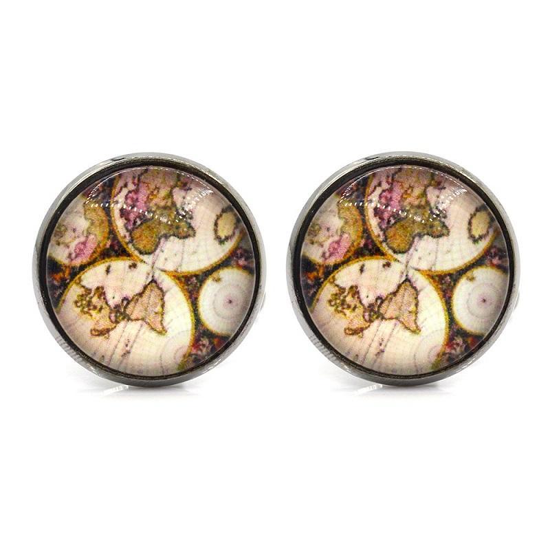 Promoción de Memolissa !!! Gemelos redondos de moda 18 estilos Camisa de hombre opcional Gemelos Regalos finos para amigos