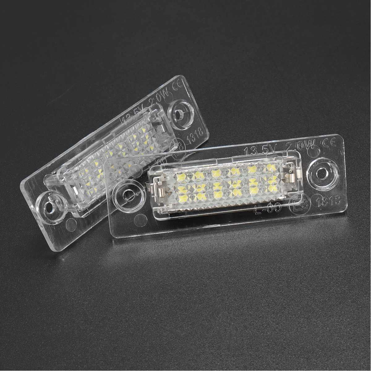 Kennzeichenleuchte Kennzeichenbeleuchtung aus Metall  für 2 Glühbirnen