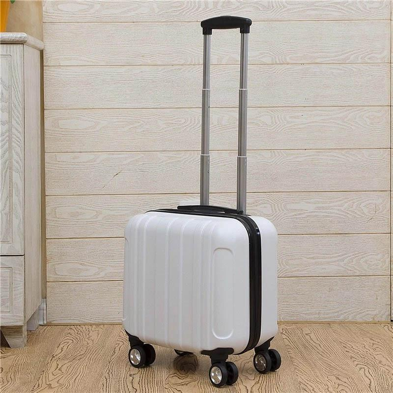 a5f74ef8ff3e GraspDream Carry on Travel bag Women Laptop Luggage Stripe Pattern Small  Luggage 18 Inch Spinner Boarding box Rolling Suitcase
