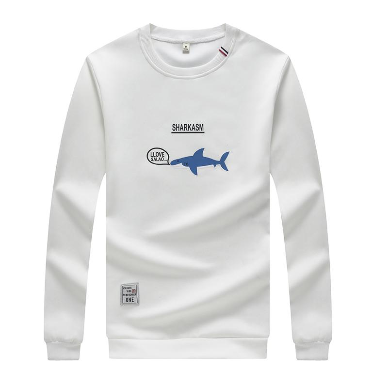 95fea415f380 Großhandel Langarm T Shirt Männer 2018 Mode Frühling O Hals Lässig  Baumwolle Männliche T Shirts Dünne Elastische Männliche Weiße T Shirt Von  Jc801, ...