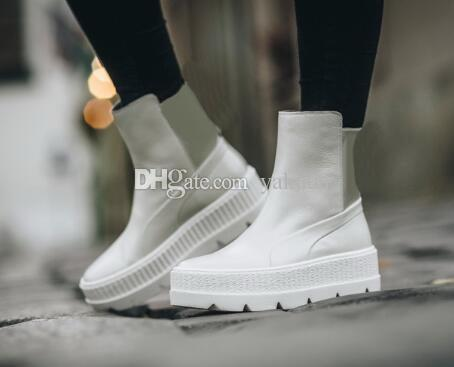 e418728a192 2019 Discount Cheap 2018 Best Rihanna X Fenty Chelsea Ladies Running  Shoes