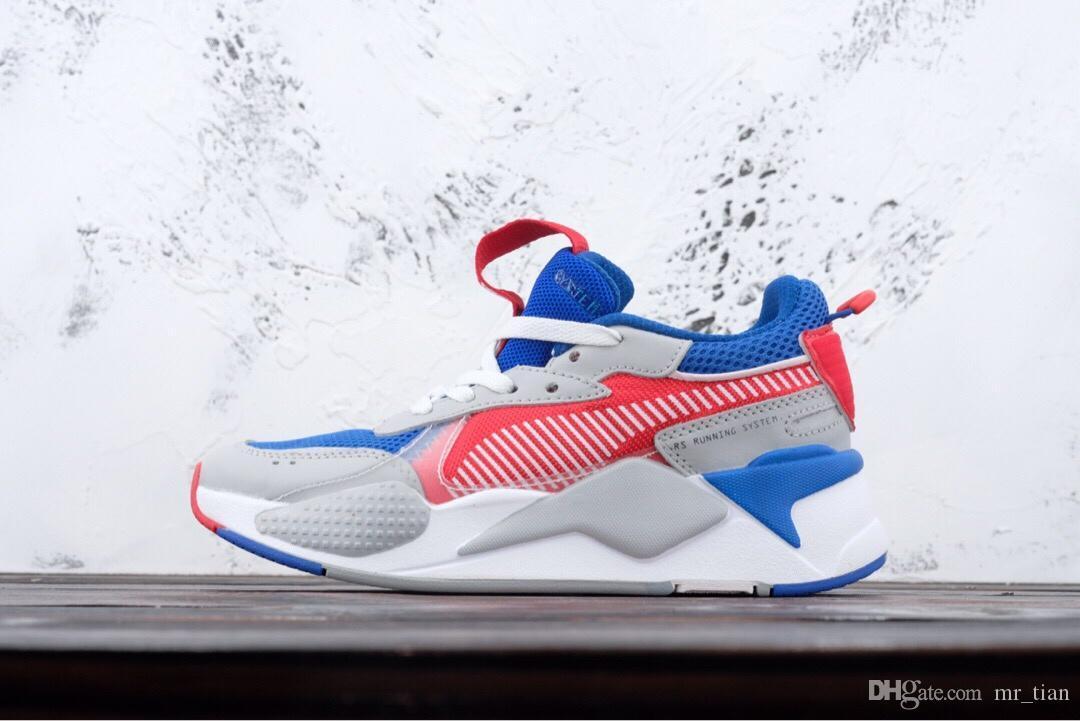 100% authentic 36567 ef07a PUMA 2019 Desiner Sneakerx TRANSFORMADORES RS X Runner Vintage Coconut  Zapatos Para Correr Marea De Hombre Zapatillas De Deporte De Marca Calzado  Informal ...