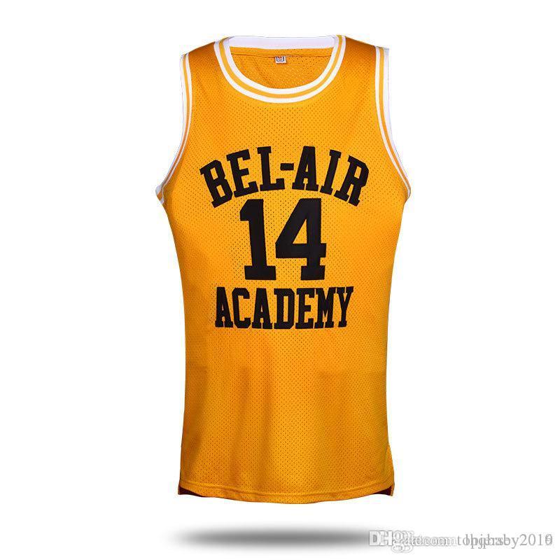 2017 Movie Will Smith 14 Basketball Jersey Carlton Banks  25 Jersey Bel Air  Academy Jerseys S-XXL Will Smith Jersey Will Smith Jersey Carlton Banks  Jersey ... e074a5eb63c3