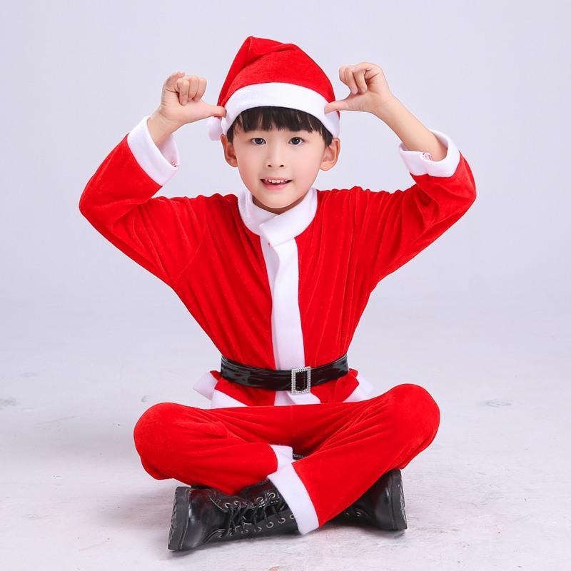8e6360ad3cd3 2019 Children Christmas Clothing Set 4 16Y Baby Boys Girls Christmas ...