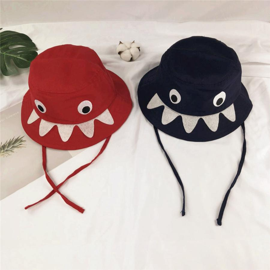 80de4027 2019 Children'S Shark Fisherman Hat Kids Sun Visor Hat Baby Cartoon  Fisherman'S Caps Kids Photography Props LJJR840 From B2b_baby, $0.5 |  DHgate.Com