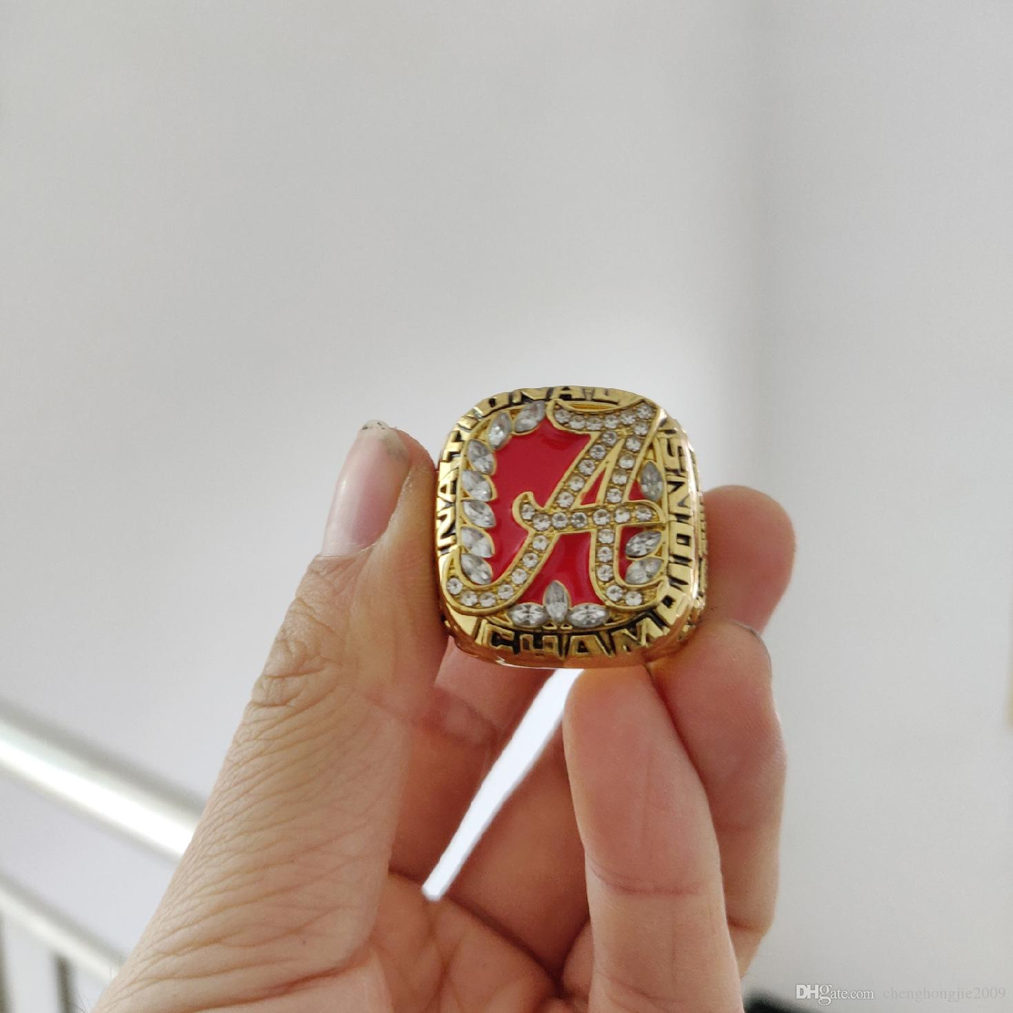 uk availability 6b3ae 3c432 2019 wholesale 2009 Alabama Crimson Tide National Championship Ring Give  gifts to friends
