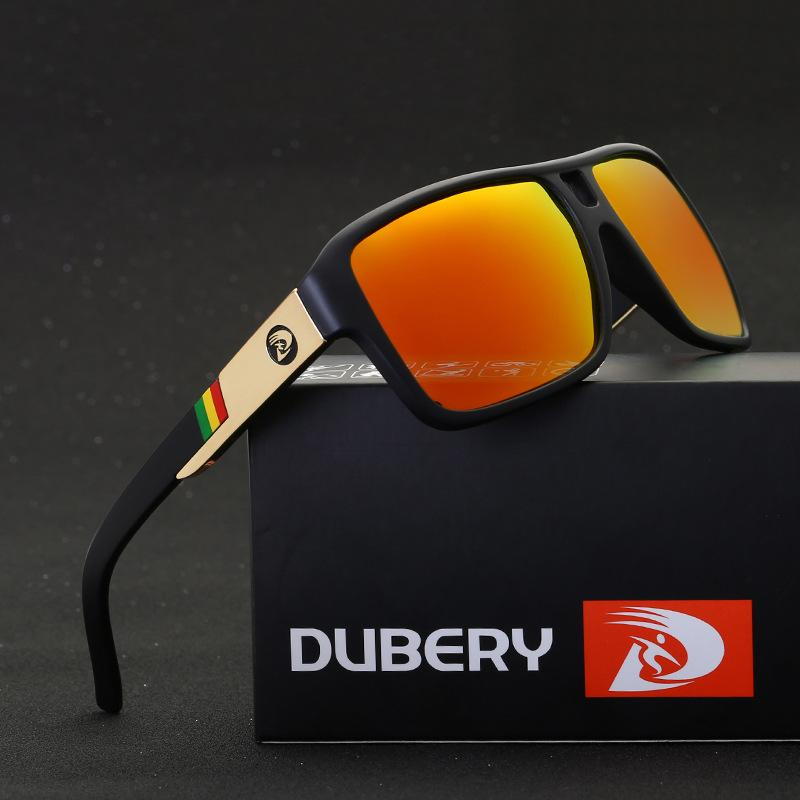 4ead567401ec7 Compre DUBERY Polarized Sunglasses Motorista Shades Masculino Óculos De Sol  Para Homens Original 2017 Designer De Marca De Luxo Oculos 008 De  Linyicity